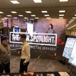 Spotlight uses Mobile Pro LED screen rental for Business After Hours