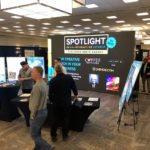 Spotlight rents LED Screen for Business After Hours